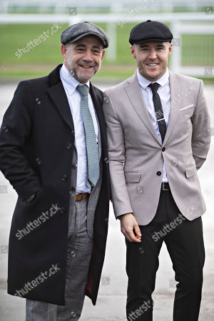 Stock Image of Michael LeVell and Alan Halsal.
