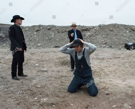 Peter Outerbridge as Eli Voss, Ryan Robbins as Noah Funk and Gord Rand as Abel Funk