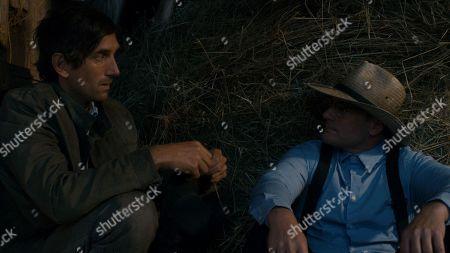 Gord Rand as Abel Funk and Ryan Robbins as Noah Funk