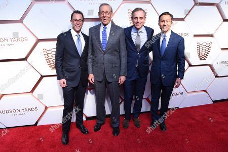 Stock Photo of Jeff Blau, Stephen Ross, Bruce Beal Jr and Ken Wong