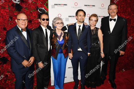 Editorial image of Maestro Cares Foundation Sixth Annual Changing Lives, Building Dreams Gala, Arrivals, New York, USA - 14 Mar 2019