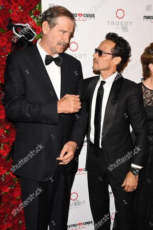 Vicente Fox and Marc Anthony