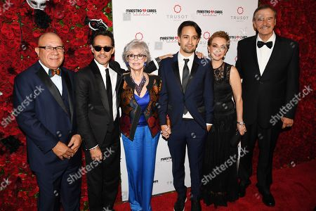 Editorial photo of Maestro Cares Foundation Sixth Annual Changing Lives, Building Dreams Gala, Arrivals, New York, USA - 14 Mar 2019