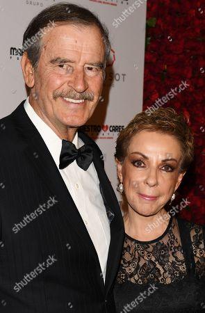 Vicente Fox and Marta Sahagún