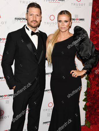 Editorial picture of Maestro Cares Foundation Sixth Annual Changing Lives, Building Dreams Gala, Arrivals, New York, USA - 14 Mar 2019