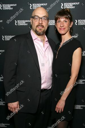 Stock Picture of Alexander Gemignani and Erin Ortman