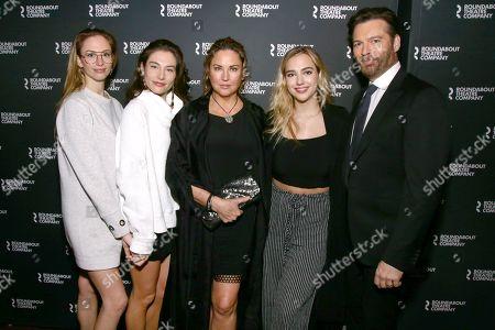 Harry Connick Jr, Jill Goodacre, Georgia Connick, Sarah Connick, Charlotte Connick