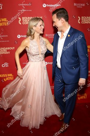 Stock Photo of Kelli O'Hara and Will Chase