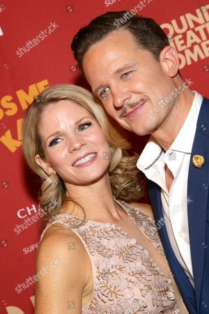 Stock Picture of Kelli O'Hara and Will Chase