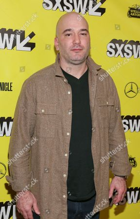 """Executive producer Nick Thomas arrives for the world premiere of """"Stuber"""" at the Paramount Theatre during the South by Southwest Film Festival, in Austin, Texas"""