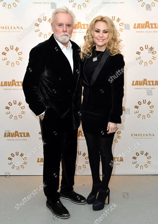 Stock Picture of Roger Taylor and Sarina Potgieter