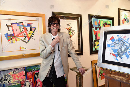 Editorial image of Ric Ocasek: Abstract Reality Art Presentation, Fort Lauderdale, USA - 14 Mar 2019