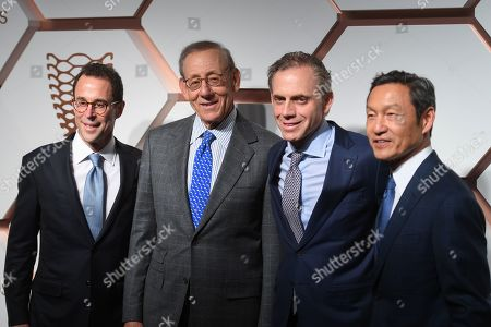 Stock Image of Jeff Blau, Stephen Ross, Bruce Beal Jr and Ken Wong