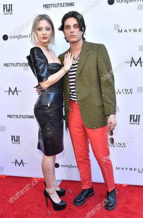 Stock Photo of Vanessa Dubasso and Samuel Larsen