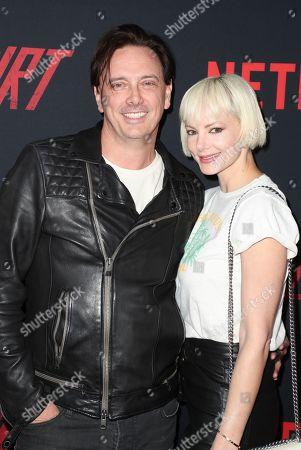 Donovan Leitch and Libby Mintz