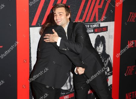 Vince Neil and Douglas Booth