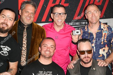 Stock Image of Chris Pontius, Jeff Tremaine, Steve-O, Dave England, Jason Acuna and Ehren McGhehey