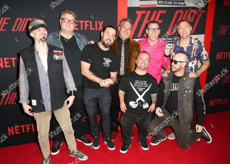 Stock Picture of Dimitry Elyashkevich, Rick Kosick, Chris Pontius, Jeff Tremaine, Steve-O, Dave England, Jason Acuna and Ehren McGhehey