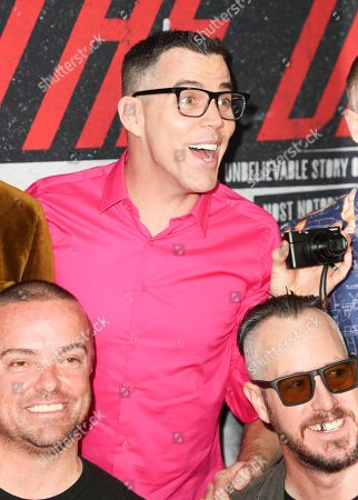 Stock Picture of Steve-O, Jason Acuna and Ehren McGhehey