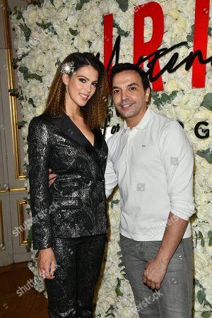 Iris Mittenaere and Kamel Ouali