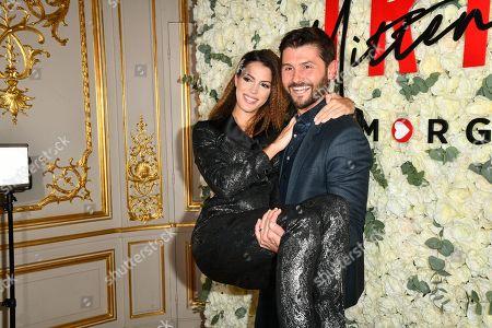 Iris Mittenaere and Christophe Beaugrand