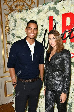 Terence Telle and Iris Mittenaere