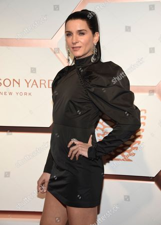 Michele Hicks attends the grand opening of the Shops & Restaurants at Hudson Yards, in New York