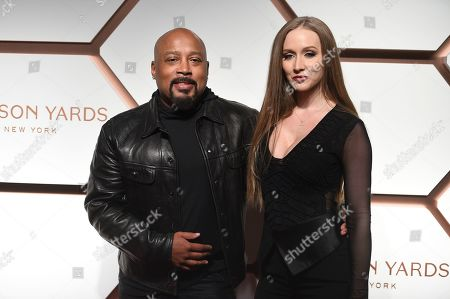 Daymond John, Heather Taras. Daymond John and wife Heather Taras attend the grand opening of the Shops & Restaurants at Hudson Yards, in New York