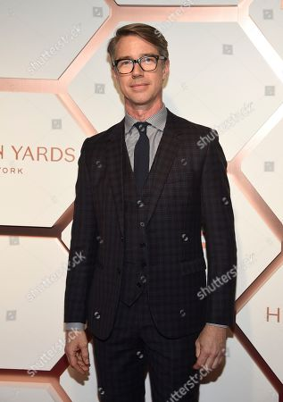 Stock Photo of Nelson Byrd Woltz owner Thomas Woltz attends the grand opening of the Shops & Restaurants at Hudson Yards, in New York