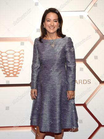 Stock Picture of Mercedes Abramo attends the grand opening of the Shops & Restaurants at Hudson Yards, in New York