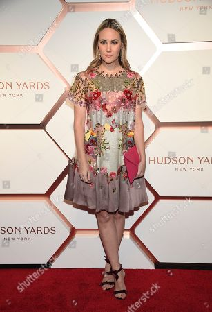 Stock Picture of Elizabeth Kurpis attends the grand opening of the Shops & Restaurants at Hudson Yards, in New York