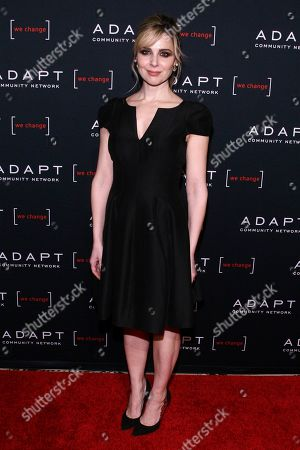 Cara Buono attends the 2019 ADAPT Leadership Awards at Cipriani 42nd Street, in New York
