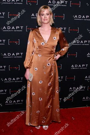 Abigail Hawk attends the 2019 ADAPT Leadership Awards at Cipriani 42nd Street, in New York