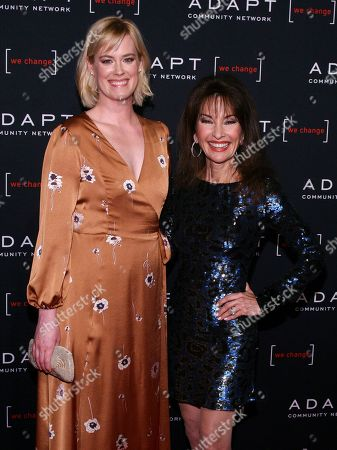 Abigail Hawk, Susan Lucci. Abigail Hawk, left, and Susan Lucci, right, attend the 2019 ADAPT Leadership Awards at Cipriani 42nd Street, in New York