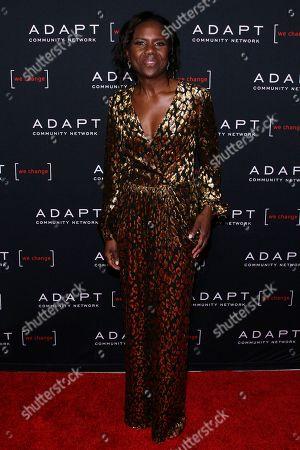 Deborah Roberts attends the 2019 ADAPT Leadership Awards at Cipriani 42nd Street, in New York