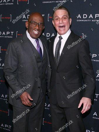 Al Roker, Tony Danza. Al Roker, left, and Tony Danza, right, attend the 2019 ADAPT Leadership Awards at Cipriani 42nd Street, in New York
