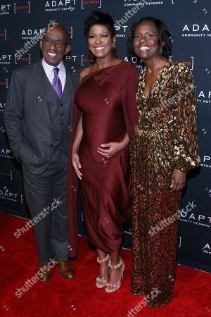 Al Roker, Tamron Hall, Deborah Roberts. Al Roker, from left, Tamron Hall and Deborah Roberts attend the 2019 ADAPT Leadership Awards at Cipriani 42nd Street, in New York