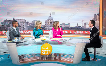 Sean Fletcher, Charlotte Hawkins, Kate Garraway and Will Geddes