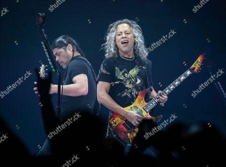 Metallica - Robert Trujillo, Kirk Hammett