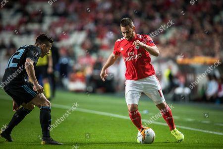 Stock Image of Andrija Zivkovic of Benfica