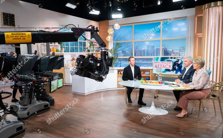 Stock Picture of Will Geddes, Eamonn Holmes and Ruth Langsford