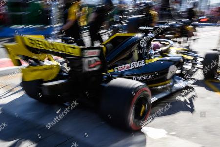 5ec0f8978da Daniel Ricciardo (AUS)  3 from the Renault F1 Team returns to his garage