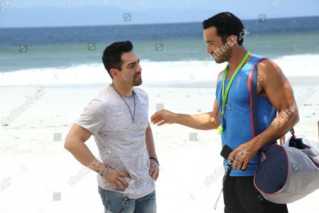 Omar Chaparro as Zequi and Aaron Diaz as Mario