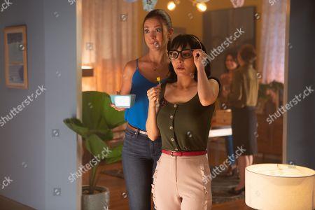 Rocio Garcia as Jenny and Martha Higareda as Lucy