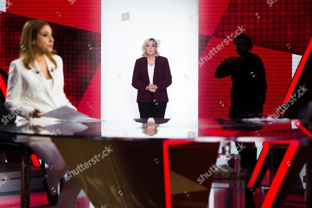Lea Salame and Marine Le Pen