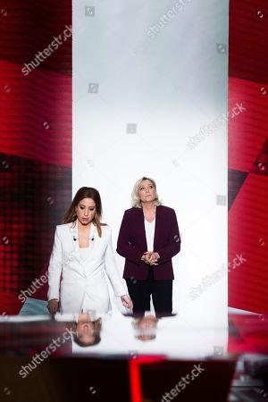 Editorial picture of 'L'emission politique' TV show, Paris, France - 14 Mar 2019