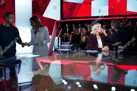 Editorial photo of 'L'emission politique' TV show, Paris, France - 14 Mar 2019