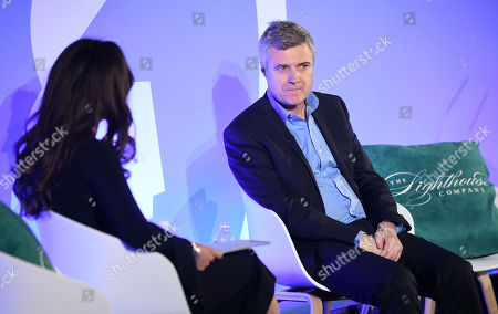 Kathleen Saxton (CEO & Founder, The Lighthouse Company) and Mark Read (CEO, WPP)