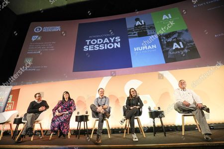 Paul Martin (Vice President Marketing Science, Xaxis EMEA), Natasa Tintor (Agency Group Director, Mindshare & m/Six, Xaxis UK Ltd), Mike Campbell (Account Director, WPP, AppNexus, a Xandr Company), Ruth Zohrer (Global Client Lead, BBVA, Mindshare) and John Pickles (Digital Marketing Optimisation ? Programme Lead, Ford)