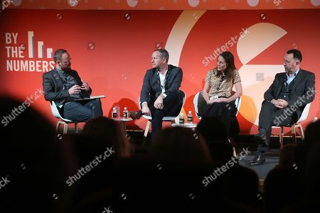 Dylan Davenport (Managing Director, Jungle Creations), Chris Williams (CEO, Publicis Media Exchange UK), Lucy Bristowe (Head of Insights and Research, Sky) and Mark Trinder (Sales Director, Commercial and Online, ITV)